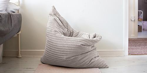 Floor Cushion used as seat