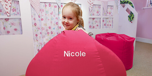 Personalised Kids Beanbag