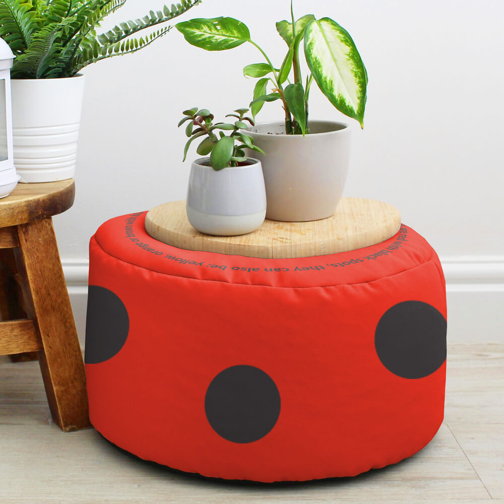 Ladybird Kids Stool Made in the UK