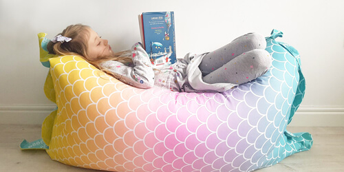 Mermaid Kids Beanbag