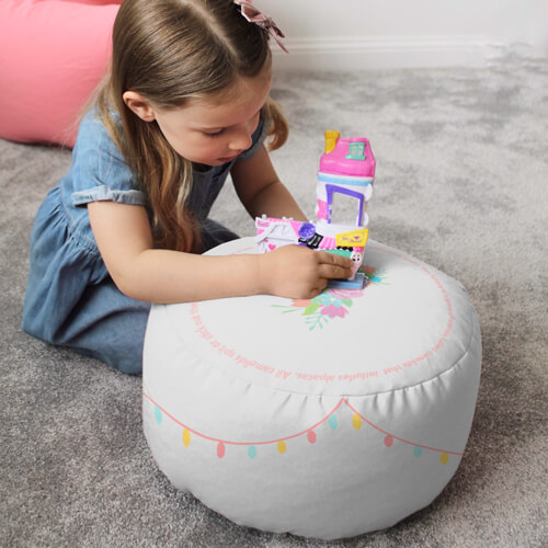 Llama Animal Kids Stool