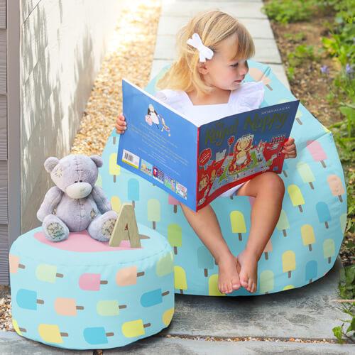 Kids Beanbag Outdoors