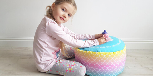 Mermaid Kids Stool