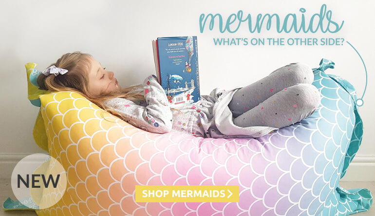 New for 2019, Mermaid beanbags