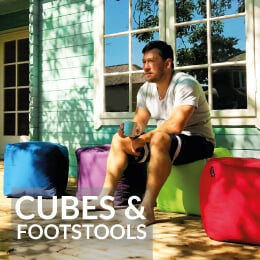 Outdoor Cubes and Footstools