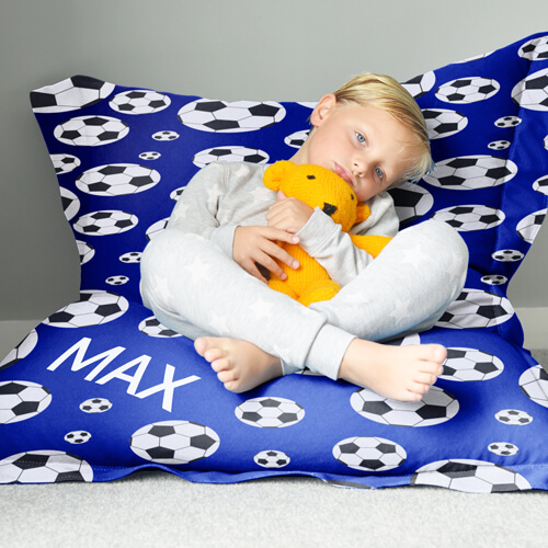 Personalised Football Beanbag