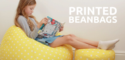 Kids Printed Bean Bags