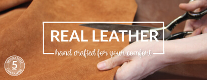 Real Leather Bean Bags