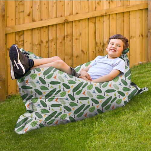 Junior Squarbie Beanbag indoors