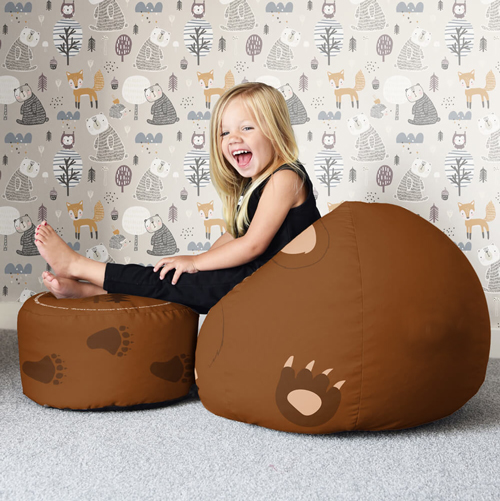Trio of Woodland Animal Beanbags - Small