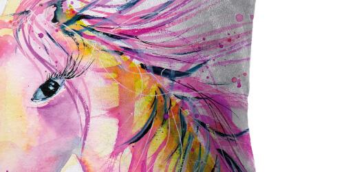 Unicorn Cushion Detail