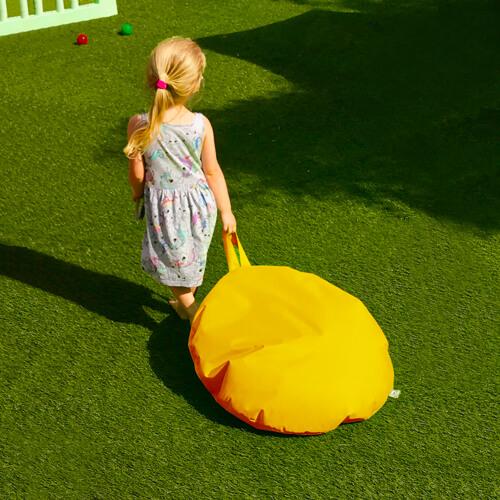 Yellow Hang-It Floor Cushion