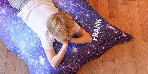 Personalised Space Galaxy Beanbag
