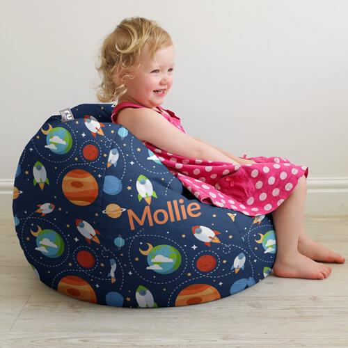 Personalsed kids beanbag