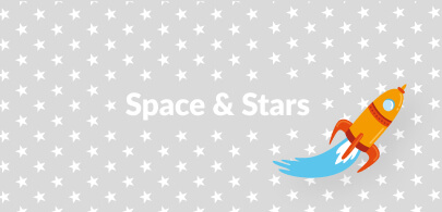 Stars and Space Kids Beanbags