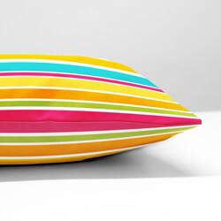 Summer Stripes Cushion side view