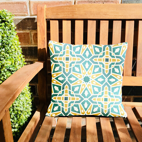 Moroccan Tile Scatter Cushion