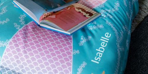 Personalised Kids Mermaid Bean Bag