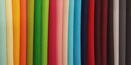 Colourful trend fabric