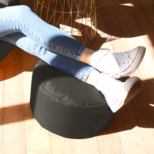 Extra Large Squarbie Bean Bag with matching Footstool