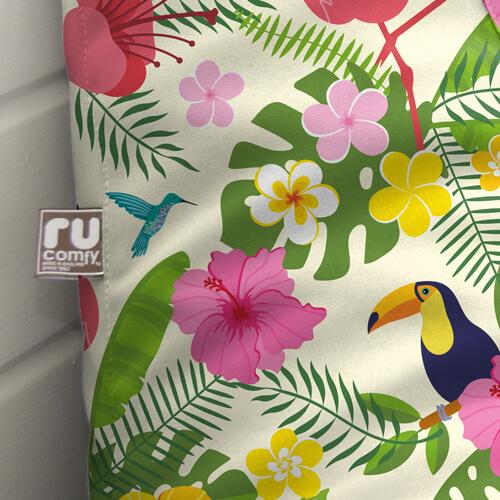 Tropical Bird outdoor fabric