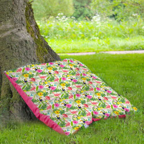 Floor Cushion Under Tree