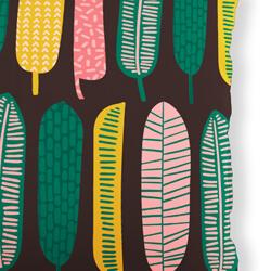 Tropical Leaf Cushion fabric