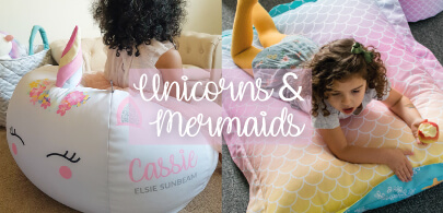 Unicorns and Mermaids