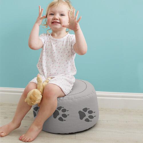 kids beanbag stool
