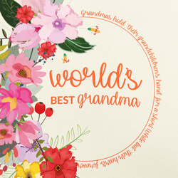 World's Best Grandma/Nana close up