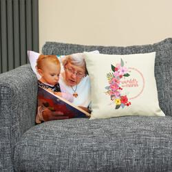 World's Best Grandma/Nana on sofa