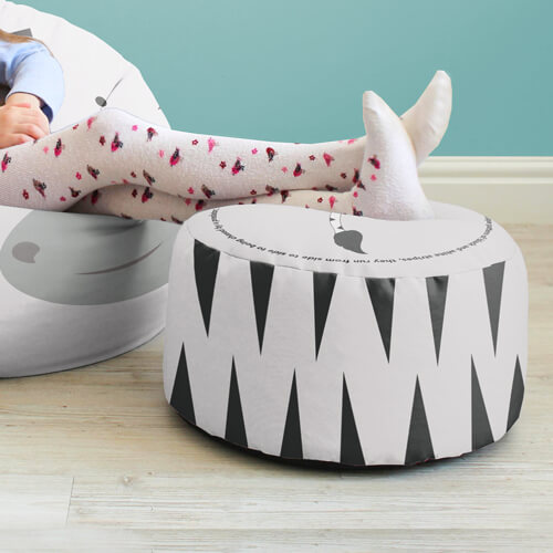 Zebra Kids Stool