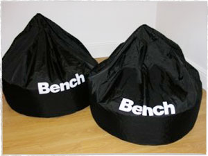 Bench Branded Beanbags