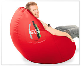 Coca Cola Branded Beanbags