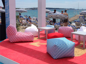 Google Event Beanbags