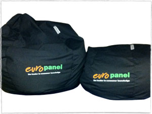 Euro Panel Branded Beanbags