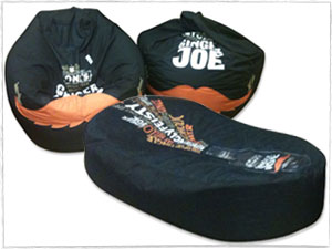 Ginger Joe Branded Beanbags