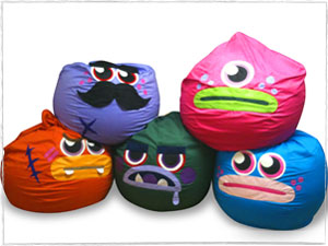 Moshi Monster Bean Bags