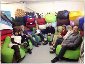Rucomfy Staff - Olympic Village Beanbags
