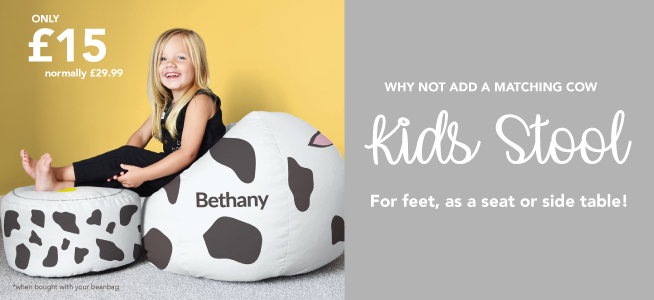 Why not add a kids stool to your Bean Bag