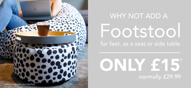 Why not add a footstool