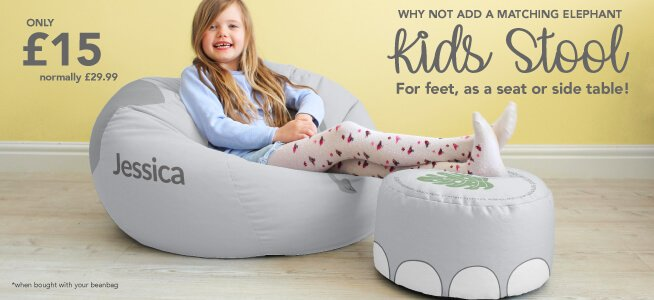 Why not add a kids stool to your Bean Bag for a fiver