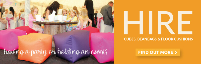 Having an event? Why not hire Beanbags