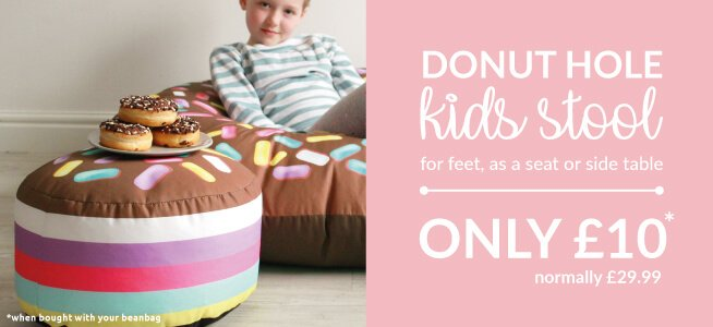 Why not add a kids stool to your Bean Bag for a tenner