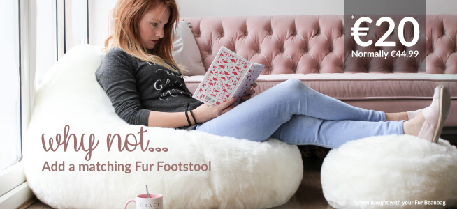Why not add a footstool to your beanbag for £15