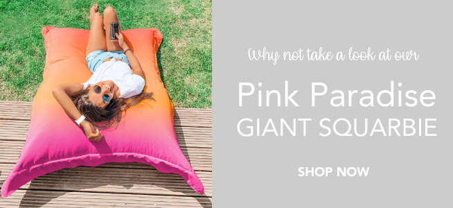 Why not add a Pink Paradise Giant Squarbie