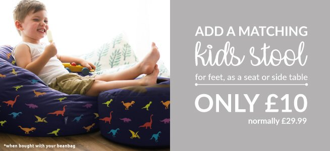 Why not add a kids stool to your Bean Bag for £10
