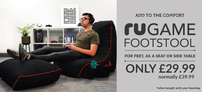 Add an rugame footstool to your order